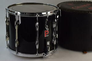 Premier Everplay Remo Black Snare Drum And Case