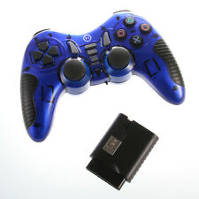 US Dual Wireless 2.4G USB Game Pad Controller Joypad for Sony PS2 PS3 TV TVBOX