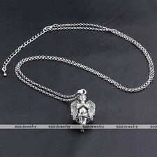 Pregnancy Angel Kid Wings Ball Caller Harmony Cage Locket Pendant Necklace