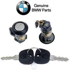 For BMW E30 318i 325e 325es 325iX Genuine BMW Front Driver Left Door Lock w/ Key