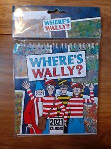 Otter House 2021 Planner - Wheres Wally Desk Top Calender