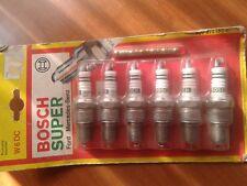 Lot de 4 bougies BOSCH W6DC neuves VOLKSWAGEN YY 071016