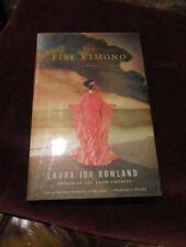 Laura Joh Rowland - THE FIRE KIMONO - 1st - SIGNED