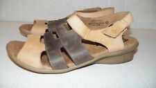 GROUNDHOG WOMEN'S  WALKING COMFORT SANDAL, MADE IN PORTUGAL Sz 40