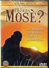 CHI ERA MOSE' (Storia Antica) DVD Documentario SEALED