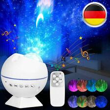 Bunte Starry Sky Galaxie Projektor Licht USB Musik Player LED Nacht Licht Xv