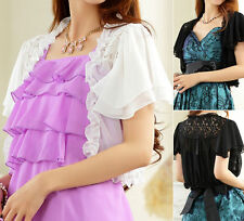 Chiffon Collarless Tops & Shirts for Women
