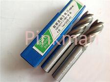 2pcs 20mm 4 Four Flute HSS Aluminium End Mill Cutter CNC Bit