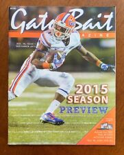 2015 Florida Gators Gator Bait 2015 Football Season Preview Issue