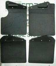 Land  Rover Defender 90, Mud flap Set, Front & Rear, + Brackets, BEARMACH BRAND