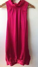 Gorgeous Morrissey Silk Hot Pink Dress Size 8