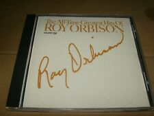 The All-Time Greatest Hits Of Roy Orbison Volume 1 CD,Used,1988,Canada.