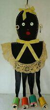 Antique Novelty Doll Americana Folk Art Sewn