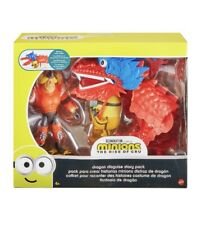 Minions Dragon Disguise Dragón Story Pack Action Figure Two-Pack For Kids Ages 4