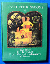 Russian BOOK THE THREE KINGDOMS 34 Fairy Tales in ENGLISH PALEKH style PAINTINGS