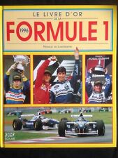 Le livre d'or de la Formule 1 1996 Sport automobile Villeneuve Hill Williams F1