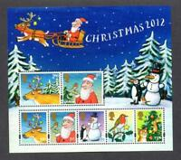 GB 2012 Commemorative Stamps~Christmas~ M/S~Unmounted Mint Set~UK