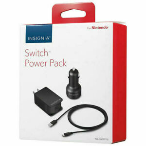 Nintendo Switch AC Power Cable - Black - FREE SHIPPING