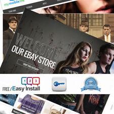 eBay Shop Store & Listing Template Design + RESPONSIVE DESIGN