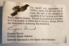 NASA pin TDRS-4 satellite (free shipping on 3 or more)