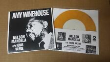 """AMY WINEHOUSE Nelson Mandela 7"""" color wax 2 TONE cover SPECIALS ska soul Madness"""