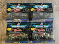 Galoob Micro Machines Star Wars Return of The Jedi Lot of 4! 1993!