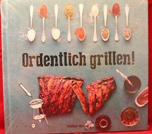 +++ORDENTLICH GRILLEN+++Hölker-Verlag+++NEU+++Jetzt wird´s heiß+++