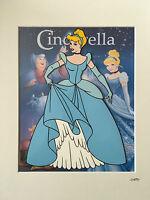 Disney - Cinderella - Hand Drawn & Hand Painted Cel