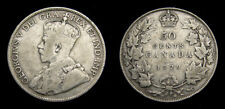 CANADA 1929 Fifty 50 Cent Piece King George V VG-10