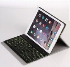 F16S For iPad Air2 Leather Sheath +Bluetooth Keyboard BLACK