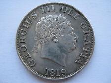1819 George III Half Crown, VF. ACS