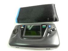 Sega Game Gear Konsole + Tasche - Bild und Ton OK + 2 Spiele !