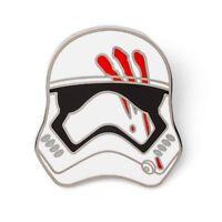 Star Wars Disney Stormtrooper Finn Jakku Blood Helmet Collectors LE 4000 Pin New