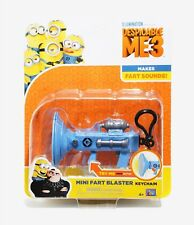 "Despicable Me Mini Fart Blaster Keychain 5"" NEW"