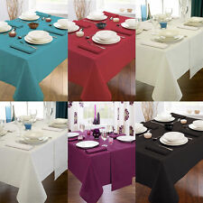 Unbranded Cotton Blend Round Tablecloths