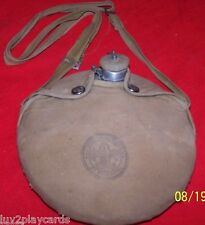 Official Boy Scout Be Prepared Vintage 1960's Regal Canteen and Cover w/Strap