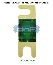 DNF (1 PIECE) ANL MINI FUSE 125 AMP - FREE SAME DAY SHIPPING!