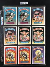 Garbage Pail Kids 1985 Series 1 Complete Glossy Set 82Cards GPK OS1 First Series