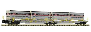 Fleischmann 825011 N Gauge AAE T2000 Articulated Double Pocket Wagon Terratrans