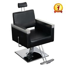Hydraulic Barber Chair Salon Styling Beauty Hair Styling Equipment Chair Black