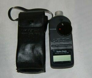 Radio Shack Digital Sound Level Meter Tester 33-2055 with case