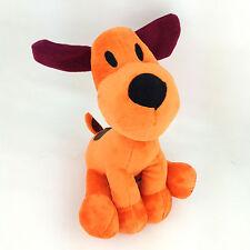 "Loula Pocoyo Pet Puppy Dog Pre-school Spanish TV Plush Toy Stuffed Animal New 7"""