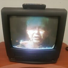 Panasonic Omnivision PV-C1320 TV/VCR Combo Gaming TV/FM TUNER w/Orig Remote Read