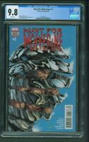 Hunt for Wolverine #1 CGC 9.8 Steve McNiven Cover 1st First Print