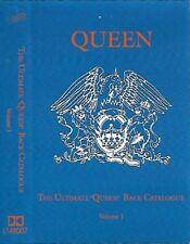 "Queen The Ultimate ""Queen"" Back Catalogue Volume I CASSETTE ALBUM Unofficial"