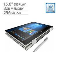 "HP ENVY x360 15.6"" 2-in-1 Laptop FHD Touchscreen, i5-8265U, 8GB RAM, 256GB SSD"