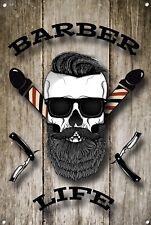 Barber SHOP insegna, segno di metallo, Barbiere segni, uno stile moderno, barbiere, 1005