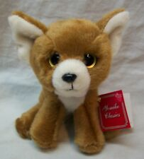 "RUSS Yomiko Classics SOFT CHIHUAHUA PUPPY DOG CLIP 4"" Plush STUFFED ANIMAL NEW"