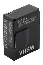 Akku für GoPro Hero 3 III, 3 III Black Edition 1180mAh 3.7V Li-Polymer