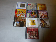 10 Stck. diverse Schlager-CD's